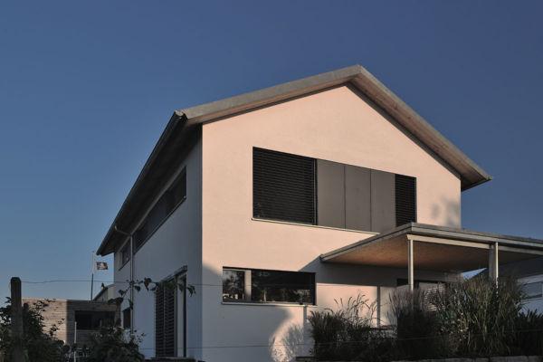 Wohnhaus, Holzhaus, Hausbau, kein Fertighaus, Bad Grönenbach, Allgäu, Schwaben
